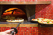 Pizza, Pizzeria Starita, traditional, heat, bake, wood fired oven, red tiles, dough, pastry, popular, fast-food, Italian, restaurant, lifestyle, culture, Italian food, Naples, Italy