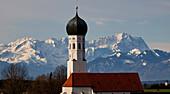 Kirche, Alpen