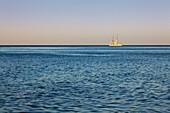 Sailing ship, Ruegen island, Baltic Sea, Mecklenburg-West Pomerania, Germany
