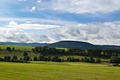 Landscape near Schmallenberg, Rothaargebirge, Sauerland region, North Rhine-Westphalia, Germany