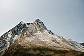mountains around Hintertux Glacier, Zillertal, Tyrol, Austria, Alps