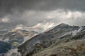Awesome views around Hintertux Glacier, Zillertal, Tyrol, Austria, Alps