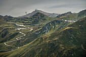Stunning views of mountains in the Alps, Zillertal, Tyrol, Austria, Alps