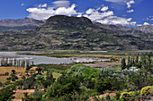 River valley of Río Ibáñez near Cerro Castillo, Carretera Austral, Región Aysén, Patagonia, Andes, Chile, South America