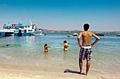 Beach life, Beach, Armona island, Olhao, Algarve, Portugal