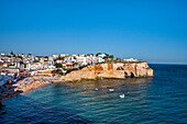 View towards Carvoeiro, Algarve, Portugal
