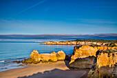 View towards Praia do Vau, Praia da Rocha, Algarve, Portugal