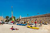 Beach near Forte da Bandeira, Lagos, Algarve, Portugal