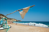 Beach, Salema, Vila do Bispo, Costa Vicentina, Algarve, Portugal
