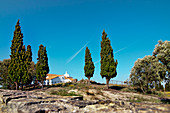 House near Mirobriga, Santiago do Cacem, Costa Vicentina, Alentejo, Portugal