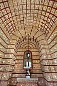 Chapel of Bones, Capela dos Ossos, Kirche Igreja do Carmo, Faro, Algarve, Portugal
