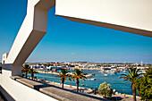 Promenade and marina, Lagos, Algarve, Portugal
