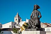 Monument, Henry the navigator, Praca do Infante, Lagos, Algarve, Portugal