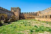 Fortress Frangokastello, Crete, Greek Islands, Greece, Europe
