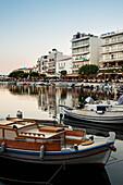 Lake Voulismeni in Agios Nikolaos, Crete, Greece