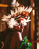 Contestant at Miss Hiri Hanenamo Beauty Pageant, Central Province, Papua New Guinea