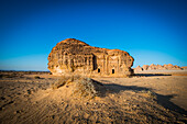 Pre-Islamic archaeological site, Madain Saleh, Saudi Arabia