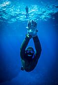 Free diving, Niue