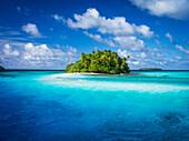 A remote island, Marshall Islands