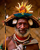 Huli, wigman from the Southern Highlands Province, Hela Province, Papua New Guinea