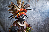 Chimbu performer, Goroka Show, Eastern Highlands