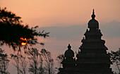 THE SHORE TEMPLE MAHABLIPURAM/MAMALLAPURAM TAMIL NADU INDIA
