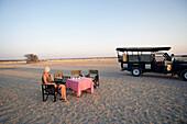 Epacha Game Drive Sundowners Etosha Namibia