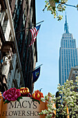 Views Of The Empire State Building From Macy's, The Biggest Department Store In The World, Manhattan, New York, Usa
