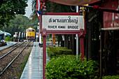 The Death Railway, Kanchanaburi, Thailand