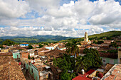 View over old town, Trinidad, Cuba