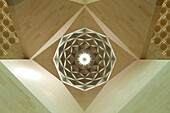 Detail of the ceiling inside the Museum of Islamic Art, Doha, Qatar