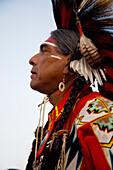 Big Stone Cree at Beaver Lake Cree Nation Pow Wow, Beaver Lake, Alberta, Canada