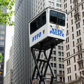 'New York Police Department surveillance; New York City, New York, United States of America'