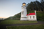 'Heceta Head Lighthouse, along the Oregon Coast; Oregon, United States of America'
