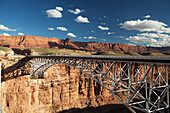 'Najavo Bridge over Marble Canyon, border of Vermillion Cliffs National Monument; Arizona, United States of America'