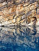 Horseshoe Lake Water Reflections, Jasper National Park, Alberta
