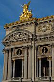 the paris opera or palais garnier, 9th arrondissement, paris (75), ile-de-france, france