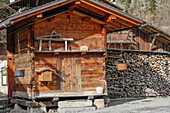 steres of wood for fireplaces and wood-burning stoves, samoens, next to a chalet home, haute savoie (74), france