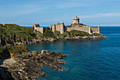 the la-latte fort, situated across from cape frehel, is one of the most famous breton castles, it dominates the sea from its rocky cape, plevenon, (22) cotes-dÆarmor, brittany france