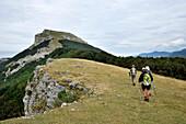 France, Rhone-Alpes, Drome, trekking in Regional Natural Park of Vercors, landscape
