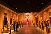 'Camdodia, Siem Reap Province, Siem Reap Town, Angkor National museum, the Gallery G named ''Room of ancient costumes'''