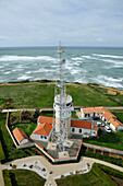 France, Charente Maritime, Oleron Island, Saint-Denis d'Oleron, Chassiron semaphore at the tip of the island