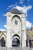 France,Seine et Marne, Moret sur ??Loing, Medieval village, Porte de Bourgogne