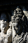 Statue at Prambanan temple, near Jogyakarta, Java island, Indonesia, South East Asia
