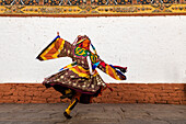Performer dancing in traditional dress