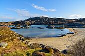 Ardtoe beach, Ardnamurchan Peninsula, Lochaber, Highlands, Scotland, United Kingdom, Europe