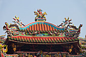 Mengjia Longshan Temple in Taipeh, Taiwan, Republic of China, Asia