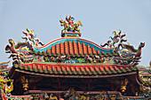 Mengjia Longshan-Tempel in Taipeh, Taiwan, Republik China, Asien