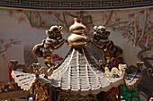 Chinesischer Tempel in Tainan, Taiwan, Republik China, Asien