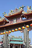 Kaitai Tianhou Temple in Anping near Tainan, Taiwan, Republik China, Asia